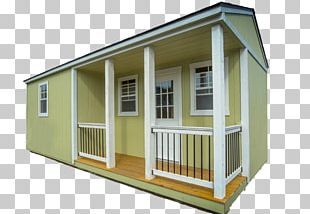 House Log Cabin Shed Portable Building PNG