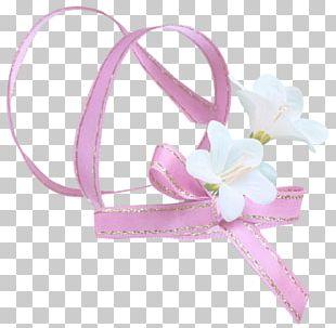 Pink Ribbon Pongee PNG