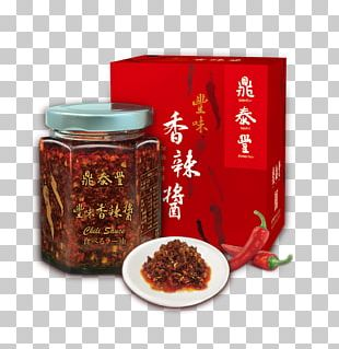 Chili Oil XO Sauce Crushed Red Pepper Din Tai Fung Hot Sauce PNG