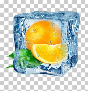 Juice Ice Cube Orange Frutti Di Bosco PNG