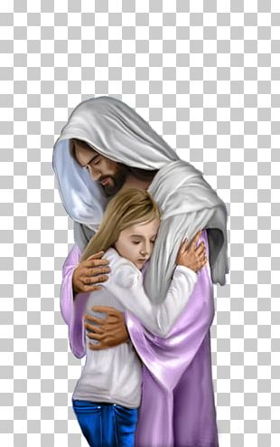 Hug Depiction Of Jesus Child Jesus PNG