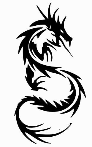 Chinese Dragon Tattoo Decal Japanese Dragon PNG