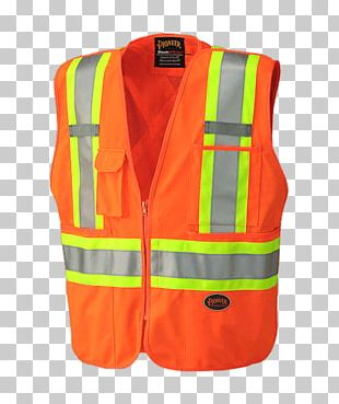 T-shirt High-visibility Clothing Gilets Jacket Zipper PNG