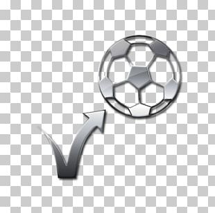 Football Black Bouncing Soccer Ball Computer Icons PNG