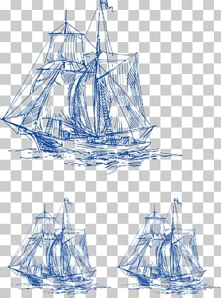 Brigantine Sailing Ship Wallet PNG