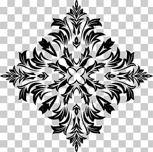 Floral Design Ornament PNG