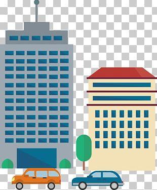 Office Building Skyscraper Cartoon PNG