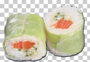 California Roll Smoked Salmon Vegetarian Cuisine Sushi 09759 PNG