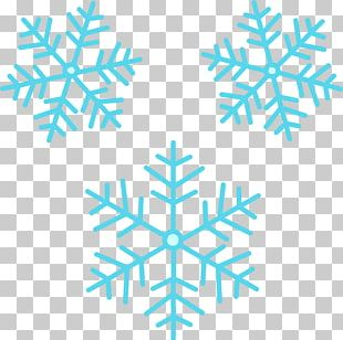 Snowflakes Group PNG