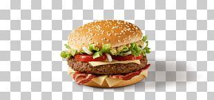 Big N' Tasty Hamburger Bacon McDonald's Big Mac Whopper PNG