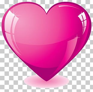 Heart Pink Stock Photography PNG