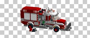 Motor Vehicle Car Fire Engine LEGO Truck PNG