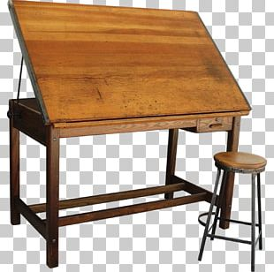 Table Drawing Board Technical Drawing Interior Design Services PNG