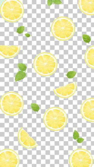 Lemon Towel PNG