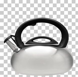 Whistling Kettle Teapot Stainless Steel PNG