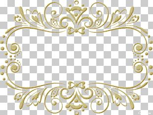 Frames Mirror Wedding Ornament PNG