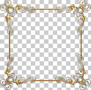 Gold Frames Digital PNG