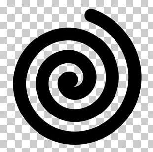 Circle Spiral Geometric Shape Geometry PNG