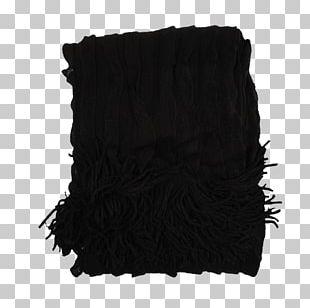 Black Color Acrylic Fiber Carpet Blanket PNG