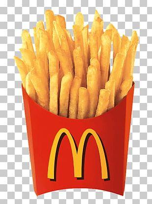 McDonald's French Fries Hamburger Fast Food Cheeseburger PNG
