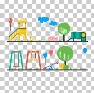 Schoolyard Playground Child Drawing PNG