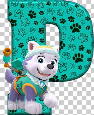 Alphabet Letter Birthday Party Patrol PNG