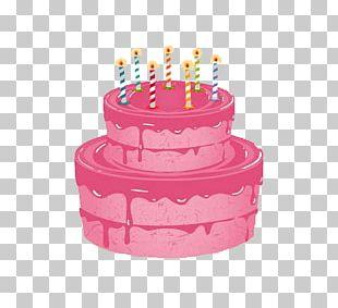 Birthday Cake Wedding Cake Cupcake Greeting Card PNG