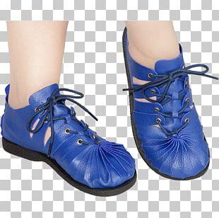 High-heeled Shoe Sandal Boot Royal Blue PNG