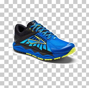 Brooks Sports Sneakers Trail Running Shoe PNG