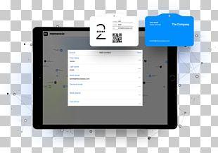 Business Cards Computer Software Lead Retrieval Momencio PNG