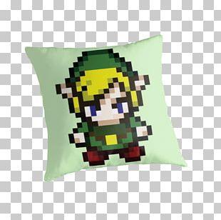 Link The Legend Of Zelda Pixel Art Bead PNG