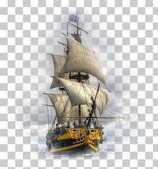 Sailing Ship Tall Ship Sailboat PNG
