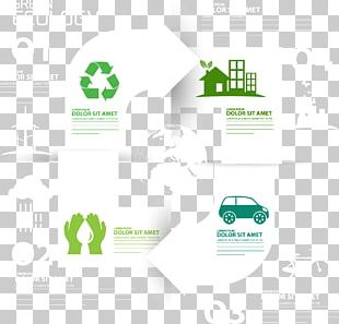 Ecology Infographic Euclidean Recycling PNG