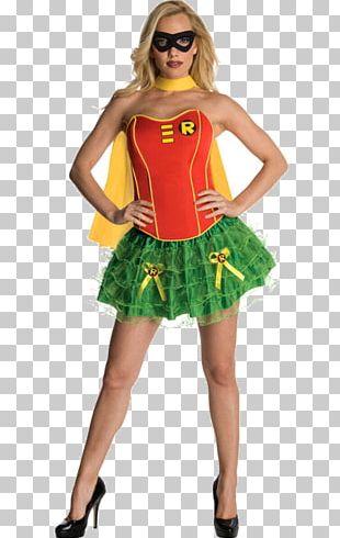 Robin Wonder Woman T-shirt Batman Costume Party PNG