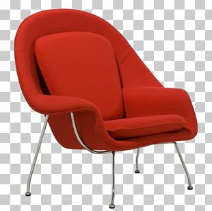 Womb Chair Eames Lounge Chair Egg Furniture PNG