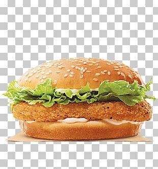 Chicken Sandwich Hamburger Burger King Specialty Sandwiches TenderCrisp Chicken Fingers PNG