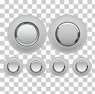 Metal Button Icon PNG