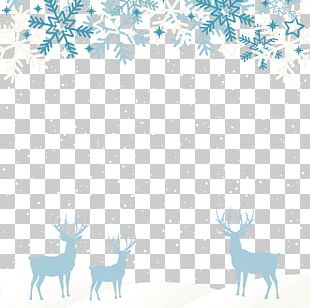 Santa Claus's Reindeer Santa Claus's Reindeer Christmas New Year PNG