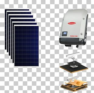 Solar Inverter Fronius International GmbH Grid-tie Inverter Power Inverters Photovoltaic System PNG