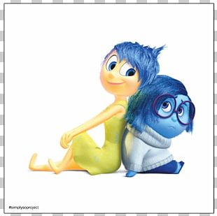 Pixar YouTube Sadness Film Character PNG