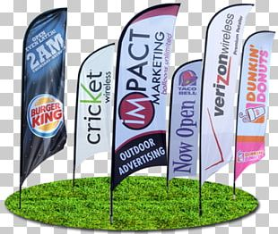 Banner Advertising Flag Printing Promotion PNG