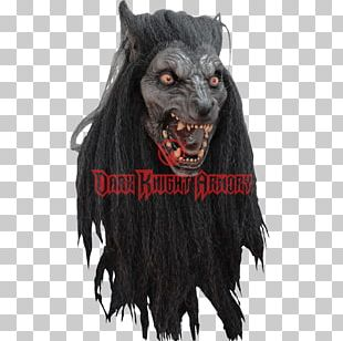 Halloween Costume Latex Mask Werewolf PNG