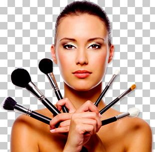 Cosmetics Make-up Artist Beauty Makeup Brush PNG