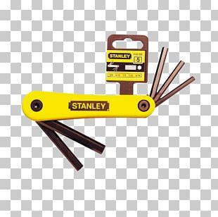 Stanley Hand Tools Hex Key Allen Fastener PNG