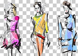 Fashion Show Fashion Illustration Fashion Week Model PNG