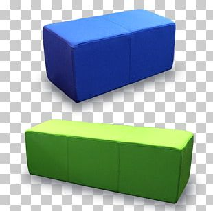 Foot Rests Bench Seat Cube Street Furniture PNG