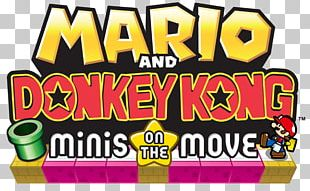 Mario Vs. Donkey Kong: Minis March Again! Mario Vs. Donkey Kong 2: March Of The Minis Mario Vs. Donkey Kong: Mini-Land Mayhem! Mario And Donkey Kong: Minis On The Move PNG