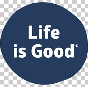 Die Cutting Sticker Life Is Good Company Brand PNG