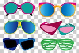 1980s Sunglasses PNG