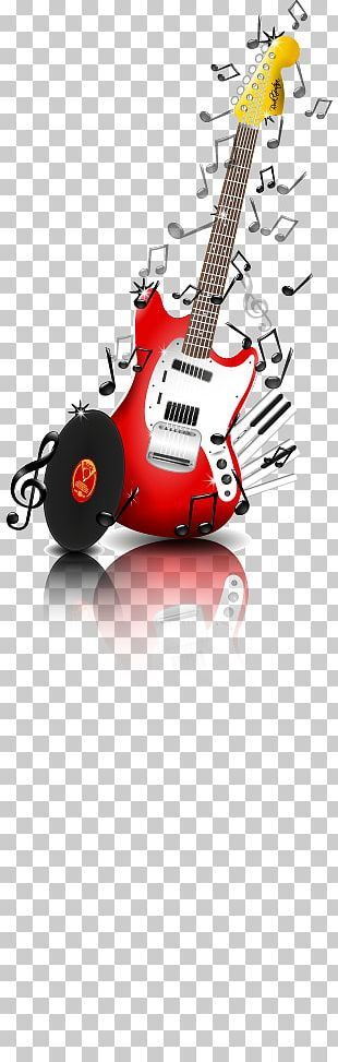 Musical Note Electric Guitar Piano PNG